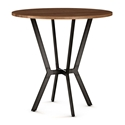 Norcross Modern Counter Table by Amisco - Harley Finish