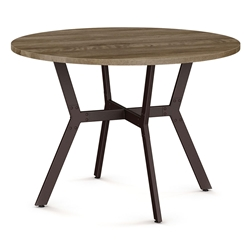 Norcross Modern Dining Table by Amisco - Oxidado/Sand Dust