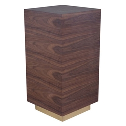Nordheim Modern Walnut End Table