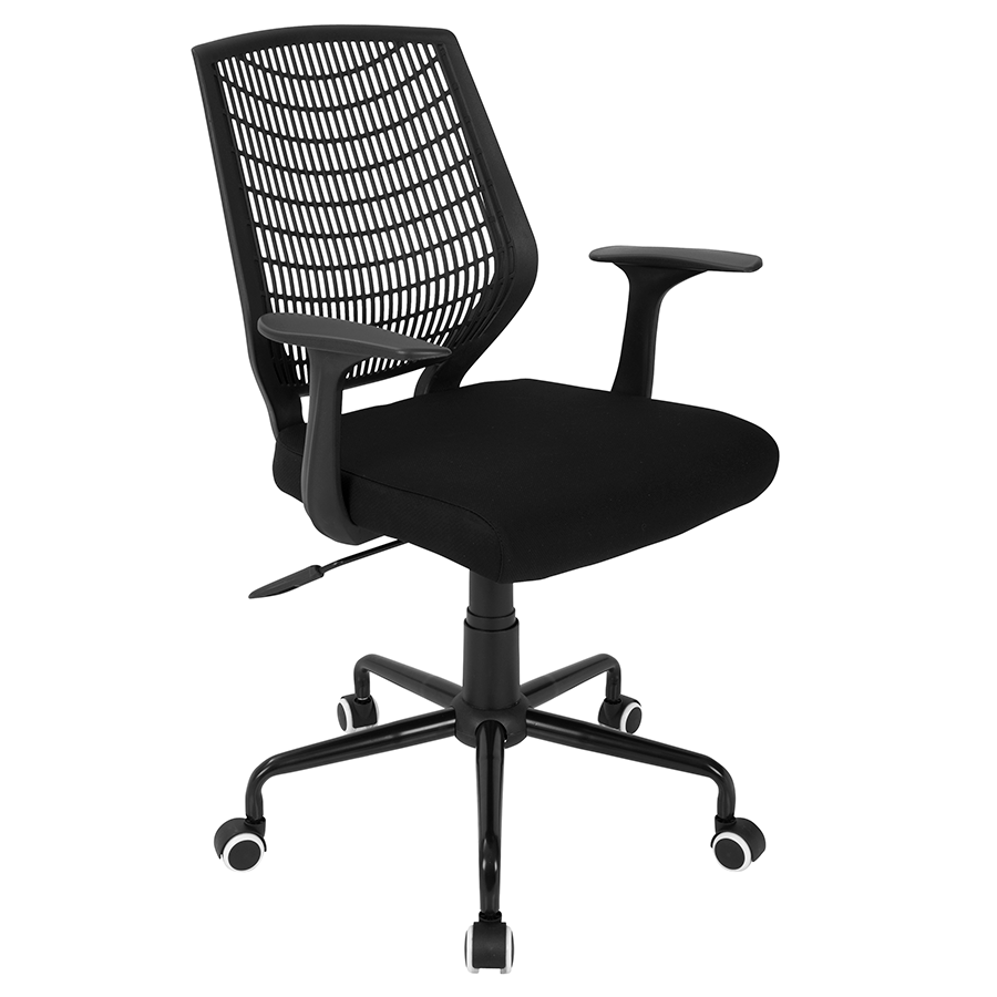Norfolk Black Modern Office Chair