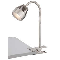 Nori Metal Modern LED Clip On Desk Lamp