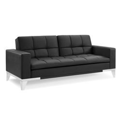 Northridge Modern Black Sleeper Sofa