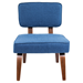 Norwich Blue Contemporary Chair