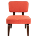 Norwich Orange Contemporary Chair