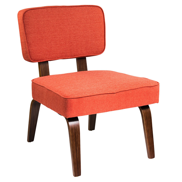 Norwich Orange Modern Chair