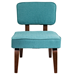 Norwich Teal Contemporary Chair