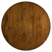 Nova Contemporary Walnut Dining Table by Saloom - Top View