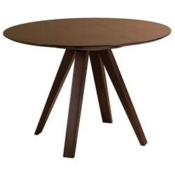 Nova Contemporary Walnut Dining Table by Saloom