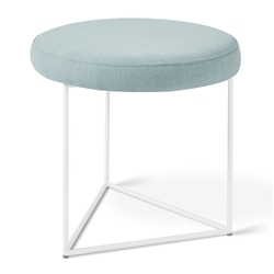 Nova Contemporary Stool in Berkeley Mint by Gus* Modern