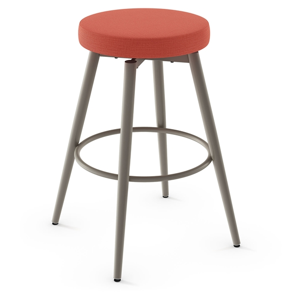 Nox Modern Swivel Bar Stool by Amisco