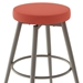 Nox Contemporary Stool by Amisco in Titanium + Corali