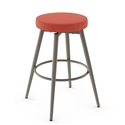 Nox Modern Swivel Counter Stool by Amisco