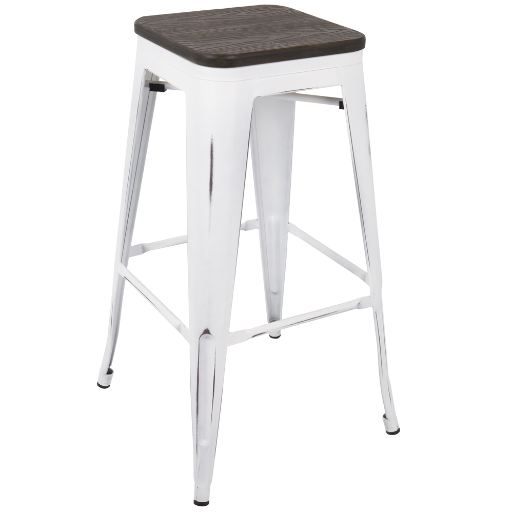 Oakland Modern White Espresso Bar Stool Eurway : BS OR VW E2 2 from www.eurway.com size 1000 x 1000 jpeg 143kB