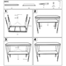 Oakland Industrial Console Table - Assembly Instructions