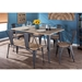 Oakland Modern 59 In. Table + Chairs and Dining Bench