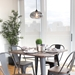 Oakland Contemporary Gray Dining Set