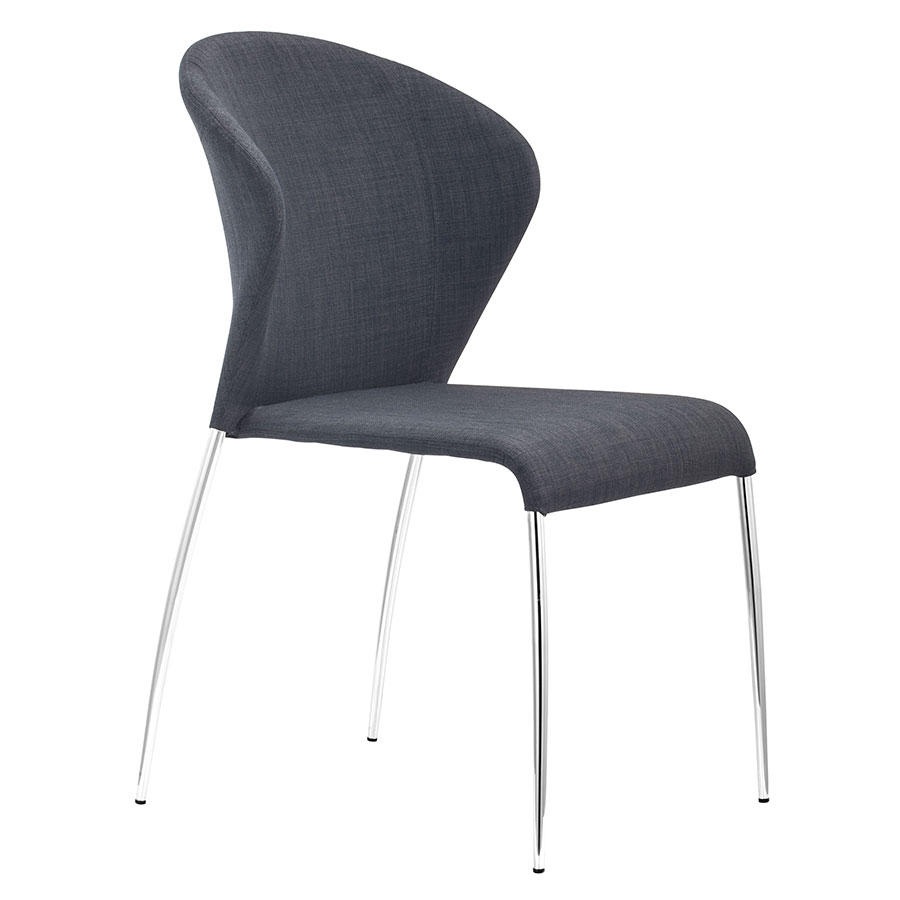 Oulu Graphite Modern Dining Chair