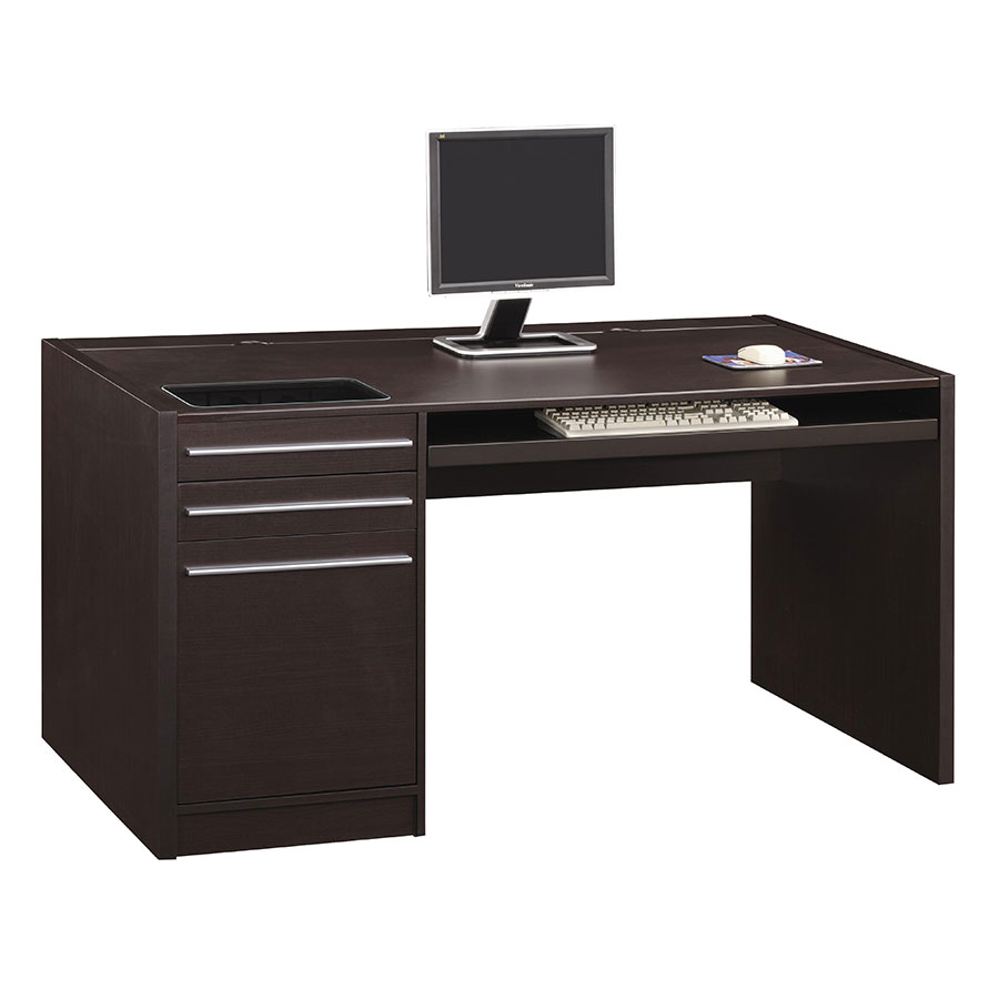 Octavio Modern Desk with Drawers