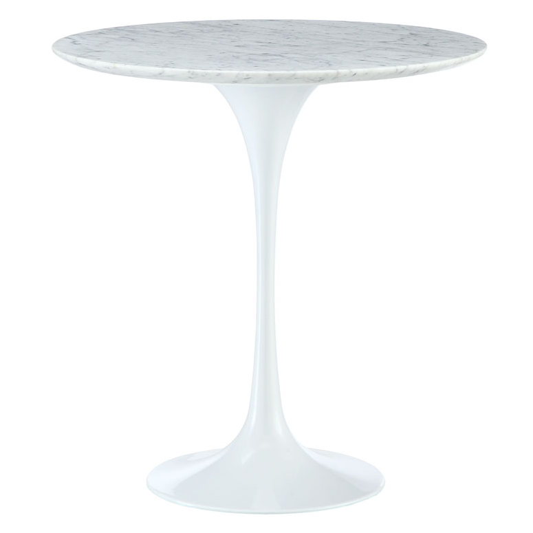 Odyssey 20 Quot Round Marble Modern Side Table Eurway