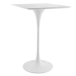 "Odyssey 28"" Square Modern Bar Table"