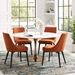 Odyssey 54 in. Rose Gold Round Dining Table