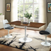 "Odyssey 60"" Rectangle Walnut Modern Dining Table with Odyssey Chairs"