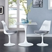 Odyssey Modern Side Chair with Gray Seat Cushions