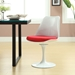 Odyssey Classic Modern Side Chair - Red Cushion