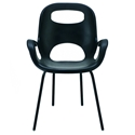 Oh Dining Chair in Black w/ Black Legs by Umbra