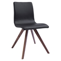 Oksana Black Contemporary Dining Chair