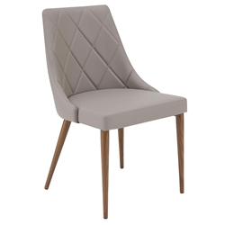 Olin Modern Taupe Side Chair by Euro Style