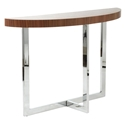 Contemporary Console Tables - Olivander Console Table Walnut