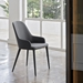 Olympia Anthracite Contemporary Dining Arm Chair by Pezzan