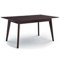 Omnia 47 in. Modern Cappuccino Dining Table