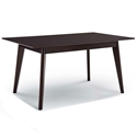 Omnia 69 in. Modern Cappuccino Dining Table
