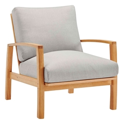 Ontario Modern Outdoor Eucalyptus Chair