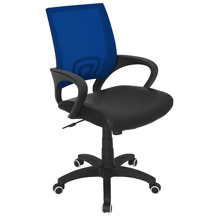 Ophelia Modern Office Chair in Midnight Blue