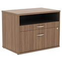 Optum Modern 30 In. Walnut File Cabinet