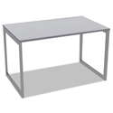 Optum Modern 48x24 Inch Desk in Gray