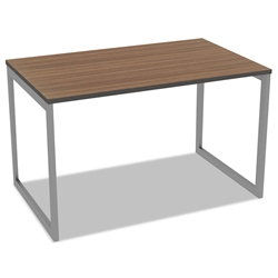 Optum Modern 48x24 Inch Desk in Walnut