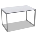 Optum Modern 48x24 Inch Desk in White