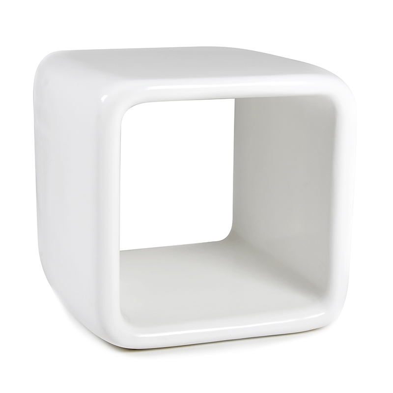 Ora Fiberglass Modern End Table