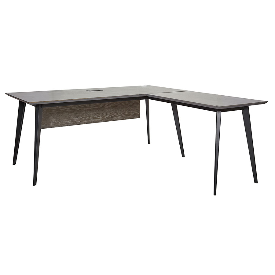 Modern desks orebro 71 l desk eurway for Kitchen and table orebro