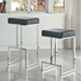 Orly Black Modern Bar Stool and Counter Stool