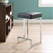 Orly Black Contemporary Counter Stool