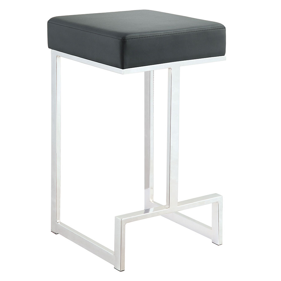 Modern Stools | Orly Black Counter Stool | Eurway