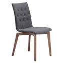 Orson Graphite Modern Dining Chair