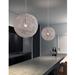 Otis Chrome + Aluminum Contemporary Hanging Lamp