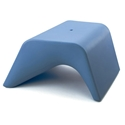 Otto Blue Outdoor Ottoman + Planter by Offi & Company