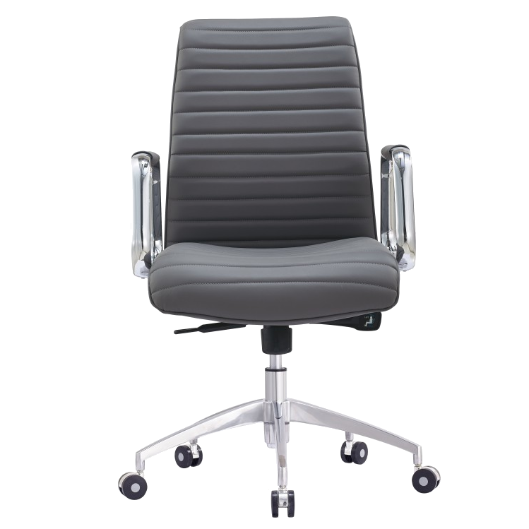 Oxford Gray Contemporary Office Chair